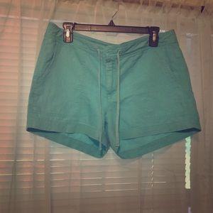 Pants - Turquoise Banana Republic shorts